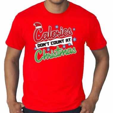 Foute kerstborrel trui kersttrui Calories don`t count at