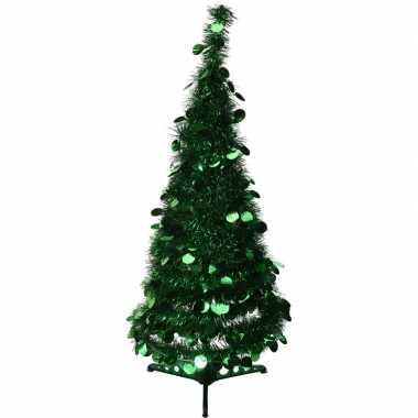 Kunst kerstboom lametta grote pailletten