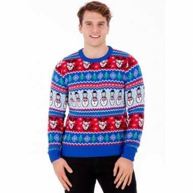 Lelijke kersttrui comic christmas heren