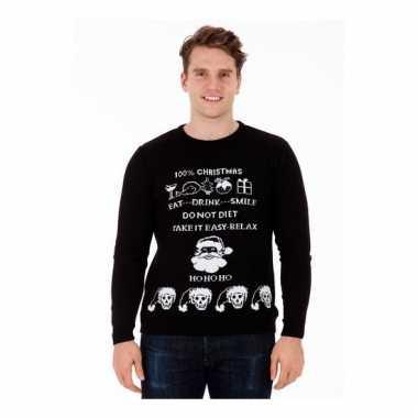Lelijke kersttrui evil christmas heren