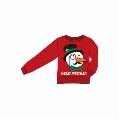 Lelijke kersttrui merry hipstmas volwassenen