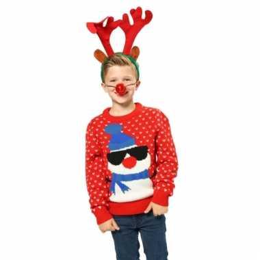 Kersttrui Poes.Lelijke Kersttrui Sneeuwpop Lelijke Kersttrui Nl