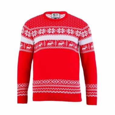 Lelijke kersttrui the red nordic heren