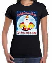 Fout kerstborrel spanje trui christmas spain zwart dames