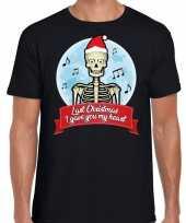 Fout kerstborrel trui fout kerst trui last christmas i gave you my heart zwart heren