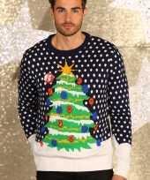Lelijke d kersttrui kerstboom
