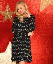 Lelijke dames kerstjurk zwart