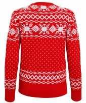 Lelijke dames kersttrui nordic