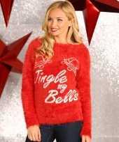 Lelijke dames kersttrui tingle my bells