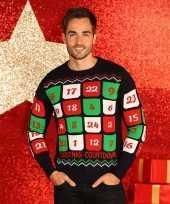 Lelijke heren kersttrui adventskalender