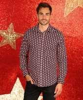 Lelijke kerst blouse kerstmannetjes