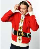 Lelijke kerstman kersttrui