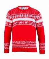 Lelijke kersttrui the red nordic dames