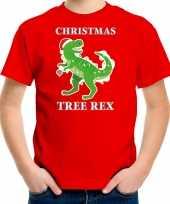Rood kerstrui kerstkleding christmas tree rex kinderen