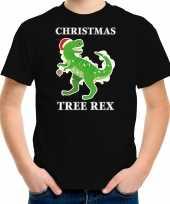 Zwart kerstrui kerstkleding christmas tree rex kinderen