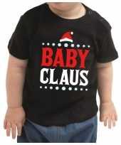 Zwart kerstrui kleding baby claus baby kinderen