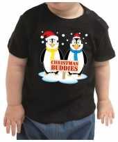 Zwart kerstrui kleding christmas buddies peuters kinderen